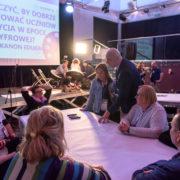 Kawiarenka Prac Obowiązkowych - Kongres Kompetencji Cyfowych, Tarnów 2018